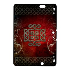 The Celtic Knot With Floral Elements Kindle Fire Hdx 8 9  Hardshell Case