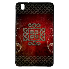 The Celtic Knot With Floral Elements Samsung Galaxy Tab Pro 8 4 Hardshell Case