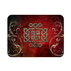 The Celtic Knot With Floral Elements Double Sided Flano Blanket (mini)