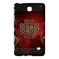 The Celtic Knot With Floral Elements Samsung Galaxy Tab 4 (8 ) Hardshell Case