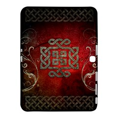 The Celtic Knot With Floral Elements Samsung Galaxy Tab 4 (10 1 ) Hardshell Case