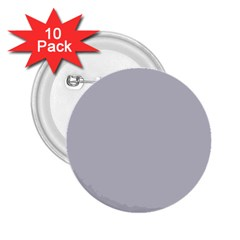 Grey Harbour Mist   Spring 2018 London Fashion Trends 2 25  Buttons (10 Pack)