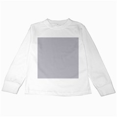 Grey Harbour Mist   Spring 2018 London Fashion Trends Kids Long Sleeve T Shirts