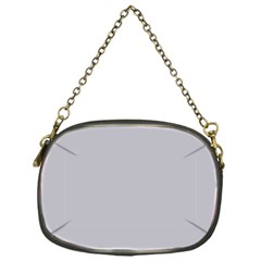 Grey Harbour Mist   Spring 2018 London Fashion Trends Chain Purses (one Side)
