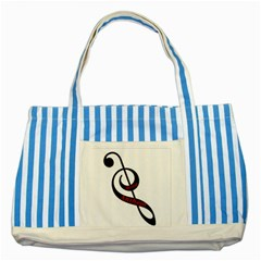 Baadanthem Striped Blue Tote Bag