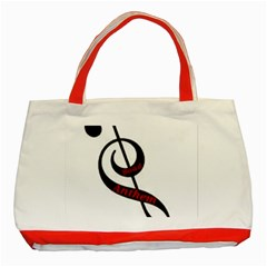 Baadanthem Classic Tote Bag (red)