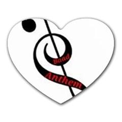 Baadanthem Heart Mousepads