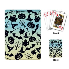 Spooky Halloween Playing Card