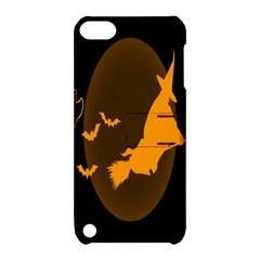 Day Hallowiin Ghost Bat Cobwebs Full Moon Spider Apple Ipod Touch 5 Hardshell Case With Stand