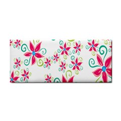 Flower Beauty Sexy Rainbow Sunflower Pink Green Blue Cosmetic Storage Cases