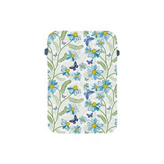 Flower Blue Butterfly Leaf Green Apple Ipad Mini Protective Soft Cases