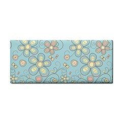 Flower Blue Butterfly Bird Yellow Floral Sexy Cosmetic Storage Cases