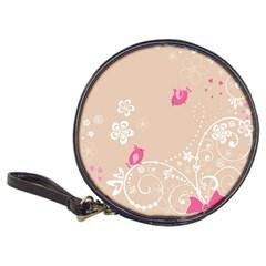Flower Bird Love Pink Heart Valentine Animals Star Classic 20 Cd Wallets
