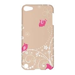 Flower Bird Love Pink Heart Valentine Animals Star Apple Ipod Touch 5 Hardshell Case