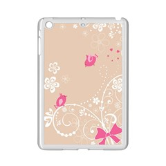 Flower Bird Love Pink Heart Valentine Animals Star Ipad Mini 2 Enamel Coated Cases