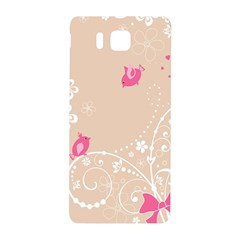 Flower Bird Love Pink Heart Valentine Animals Star Samsung Galaxy Alpha Hardshell Back Case