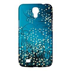Flower Back Leaf River Blue Star Samsung Galaxy Mega 6 3  I9200 Hardshell Case