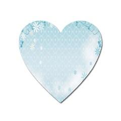Flower Blue Polka Plaid Sexy Star Love Heart Heart Magnet