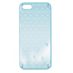 Flower Blue Polka Plaid Sexy Star Love Heart Apple Seamless Iphone 5 Case (color)