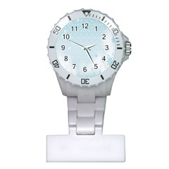 Flower Blue Polka Plaid Sexy Star Love Heart Plastic Nurses Watch