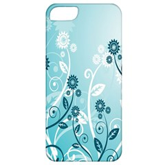 Flower Blue River Star Sunflower Apple Iphone 5 Classic Hardshell Case