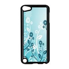 Flower Blue River Star Sunflower Apple Ipod Touch 5 Case (black)