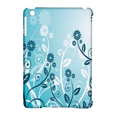 Flower Blue River Star Sunflower Apple Ipad Mini Hardshell Case (compatible With Smart Cover)