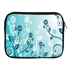 Flower Blue River Star Sunflower Apple Ipad 2/3/4 Zipper Cases