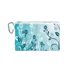 Flower Blue River Star Sunflower Canvas Cosmetic Bag (s)