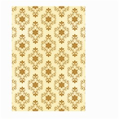 Flower Brown Star Rose Large Garden Flag (two Sides)