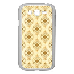 Flower Brown Star Rose Samsung Galaxy Grand Duos I9082 Case (white)