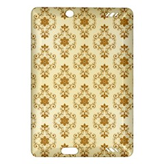 Flower Brown Star Rose Amazon Kindle Fire Hd (2013) Hardshell Case