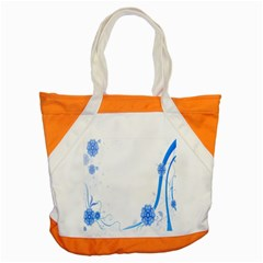 Flower Blue Sunflower Star Sexy Accent Tote Bag