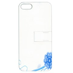 Flower Blue Sunflower Star Sexy Apple Iphone 5 Hardshell Case With Stand