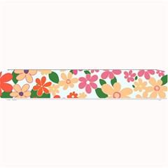 Flower Floral Rainbow Rose Small Bar Mats