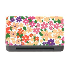 Flower Floral Rainbow Rose Memory Card Reader With Cf