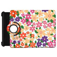 Flower Floral Rainbow Rose Kindle Fire Hd 7