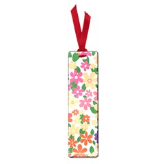 Flower Floral Rainbow Rose Small Book Marks