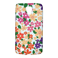 Flower Floral Rainbow Rose Galaxy S4 Active