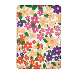 Flower Floral Rainbow Rose Samsung Galaxy Tab 2 (10 1 ) P5100 Hardshell Case