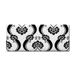 Flower Floral Black Sexy Star Black Cosmetic Storage Cases