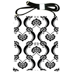 Flower Floral Black Sexy Star Black Shoulder Sling Bags