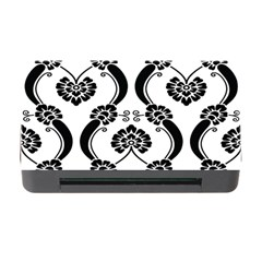 Flower Floral Black Sexy Star Black Memory Card Reader With Cf