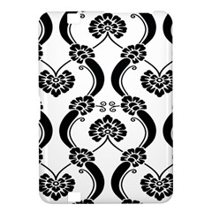 Flower Floral Black Sexy Star Black Kindle Fire Hd 8 9