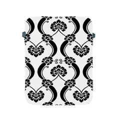 Flower Floral Black Sexy Star Black Apple Ipad 2/3/4 Protective Soft Cases