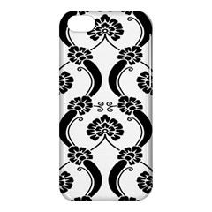 Flower Floral Black Sexy Star Black Apple Iphone 5c Hardshell Case