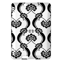 Flower Floral Black Sexy Star Black Kindle Fire Hdx Hardshell Case