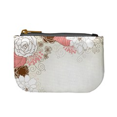 Flower Floral Rose Sunflower Star Sexy Pink Mini Coin Purses