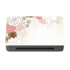 Flower Floral Rose Sunflower Star Sexy Pink Memory Card Reader With Cf