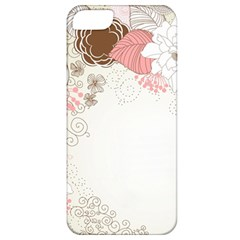 Flower Floral Rose Sunflower Star Sexy Pink Apple Iphone 5 Classic Hardshell Case